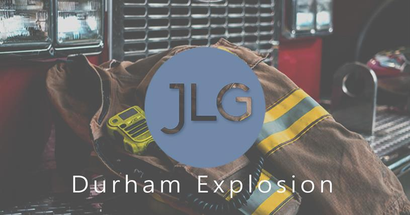 Durham Explosion Story News Jensen Law Group